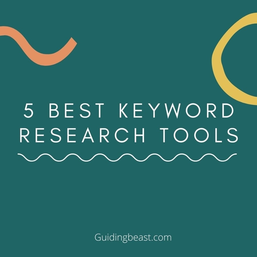 5 best keyword research tools