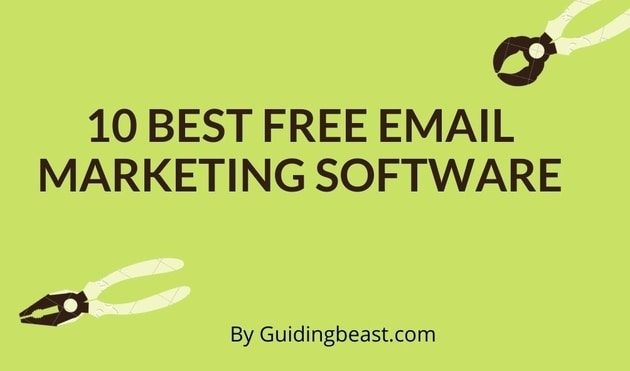 10 best free email marketing software